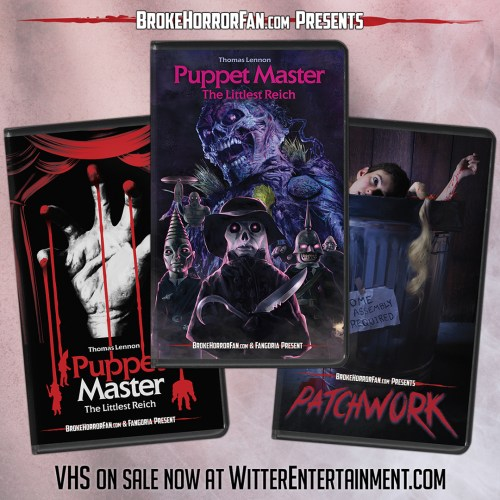 Puppet Master Patchwork VHS