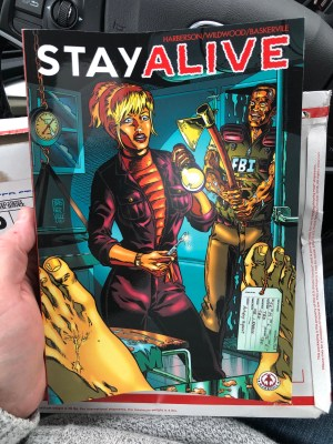 Stay Alive Graphic Novel