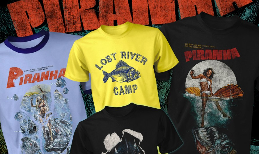 Horror Summer Apparel – PIRANHA, TWIN PEAKS and More