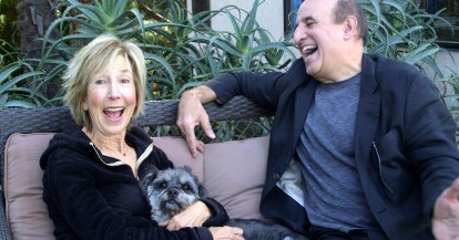 Lin Shaye and Ruben Pla in The Horror Crowd (World Premiere at FrightFest Digital Edition 29 Aug)