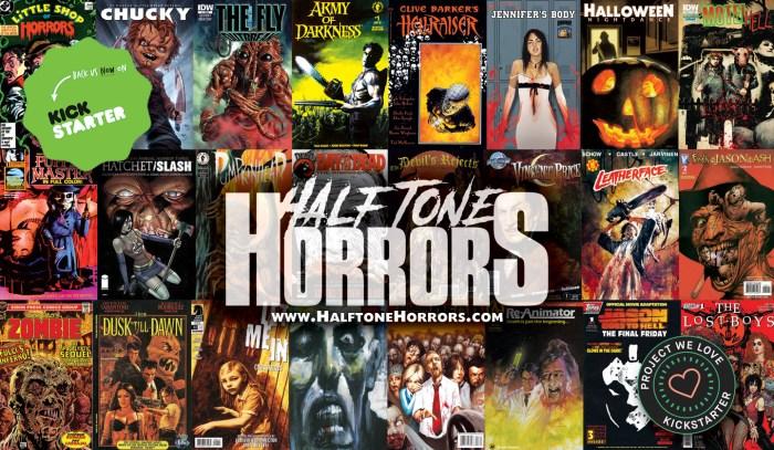Halftone Horrors Banner