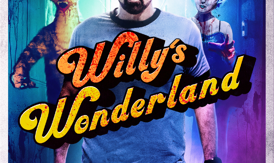 Willy's Wonderland – New UK Artwork