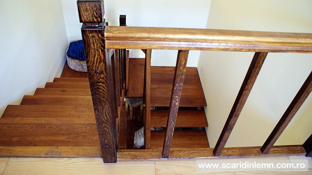 scari interioare din lemn masiv vang modular mana curenta balustrii preturi scari