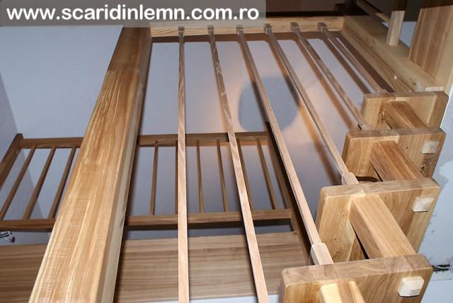 scari interioare din lemn pret cu vang si trepte economice cu pas conditionat