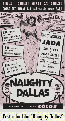 Naughty Dallas film poster