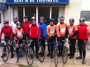 Rhyl Cycling Club – Sunday club run 29/1/2012. Around the Great Orme.