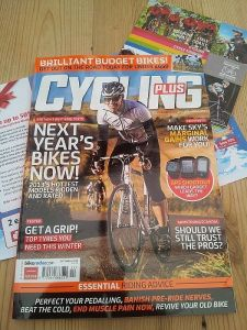 GPS shootout in Dec 2012 Cycling Plus mag