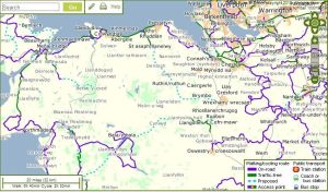 sustrans map
