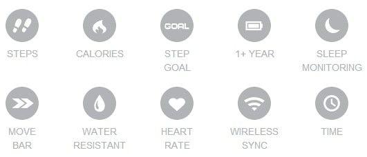 vivofit features