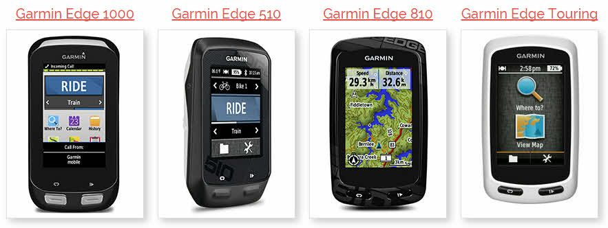 LIVE price comparison data for the full Garmin range.