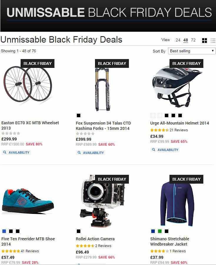 Chain Reaction Cycles Black Friday Deals