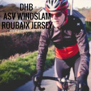 Review: Wiggle dhb ASV Windslam Roubaix cycling jersey