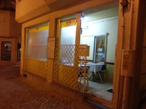 The unassuming exterior of the Melody Bar