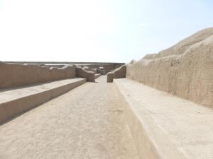 The long corridors of Chan Chan