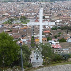 Cajamarca from Mirador Natural Santa Apolonia