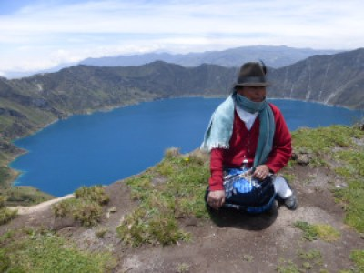 Latacunga, Quilotoa volcano