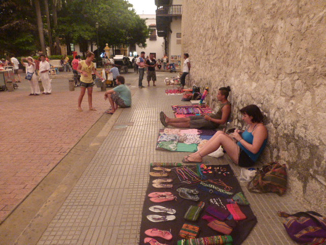 Artisan selling Argentinians