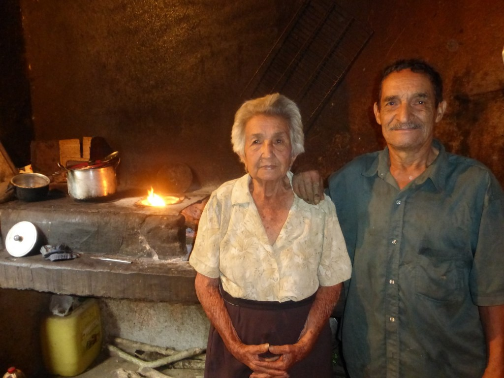 This trusting couple invited us to shelter in their home during a storm