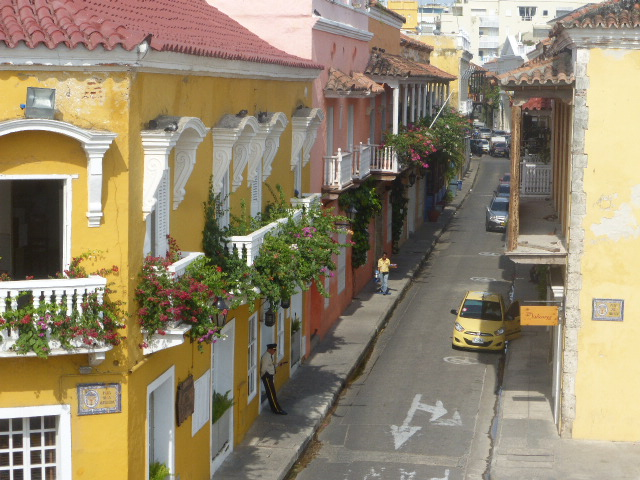 The old town, Cartagena