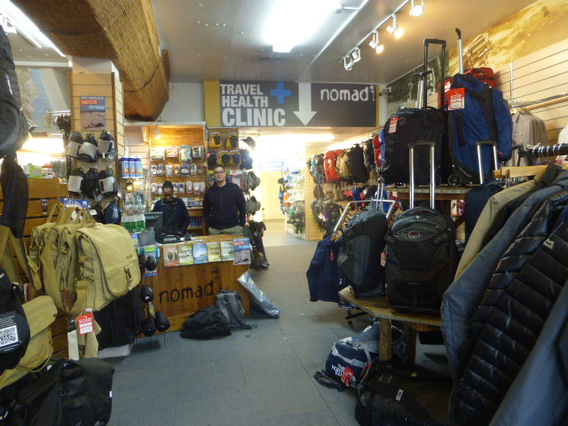 Nomad Travel store