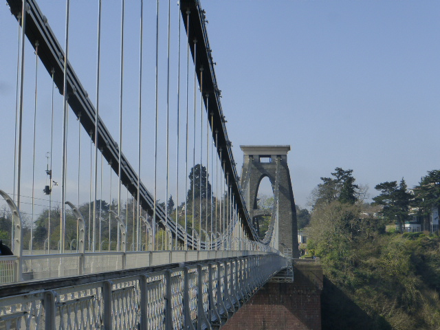 photo walk through Bristol: the clifton suspension bridge
