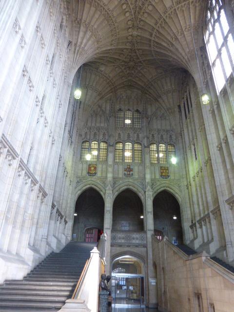 photo walk through Bristol: interior of the tower