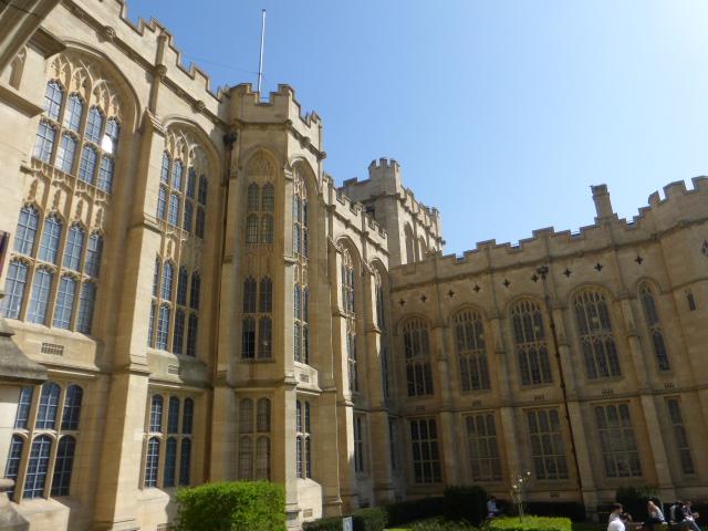 photo walk through Bristol: exterior of the tower