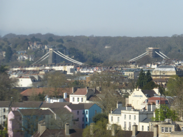 photo walk through Bristol: looking back at the bridge