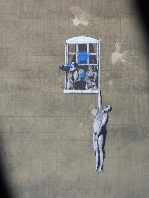 photo walk through Bristol: amazing street art