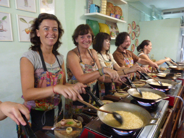 our Thai cooking class