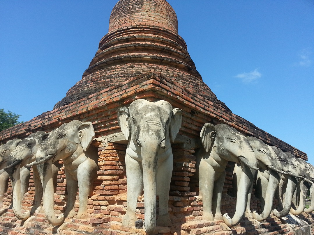 elephants at Sukhothai?