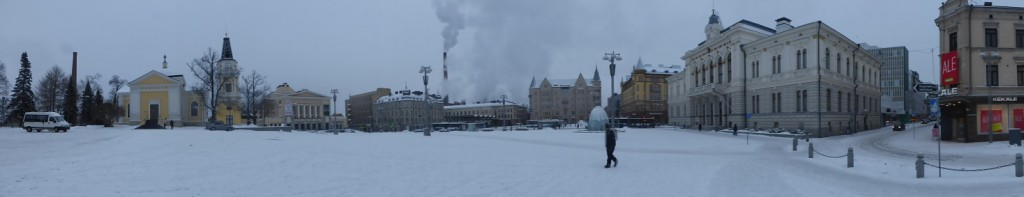 Finland in winter: Tampere in the snow