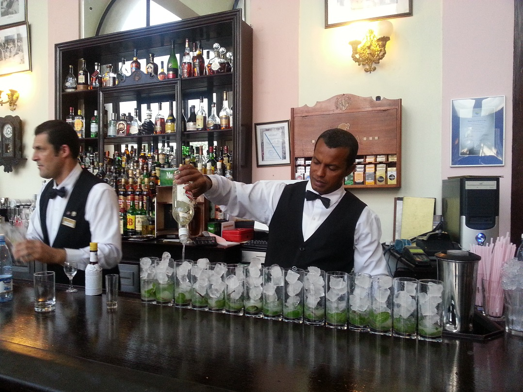 mojitos: best time to visit Cuba