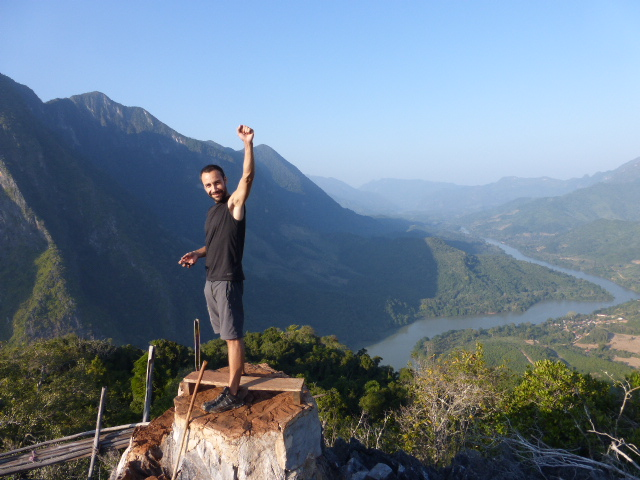 On top of the world at Nong Khiaw