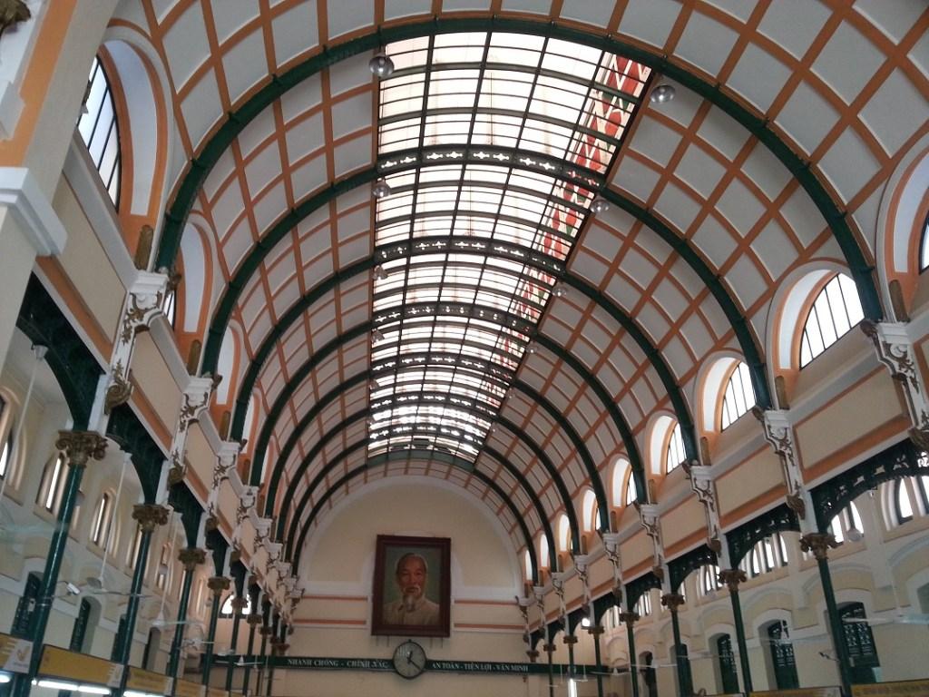 Ho Chi Minh City - the post office