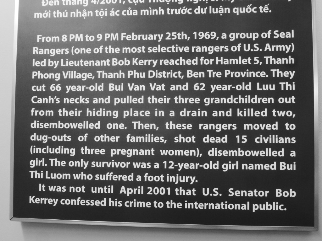 Ho Chi Minh City the war remnants museum