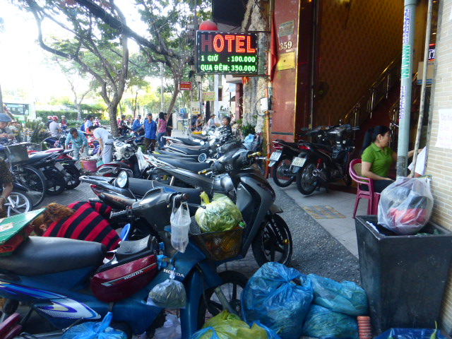 Ho Chi Minh City chaos streets