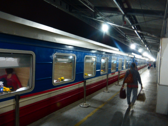 Ho Chi Minh to Hanoi train