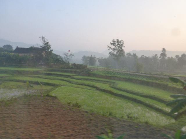 Ho Chi Minh to Hanoi dawn