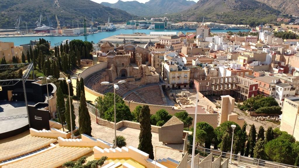 road trip Spain - Cartagena