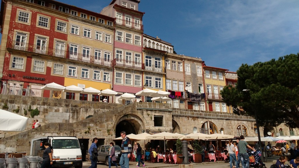 some of the many great restaurants in Porto