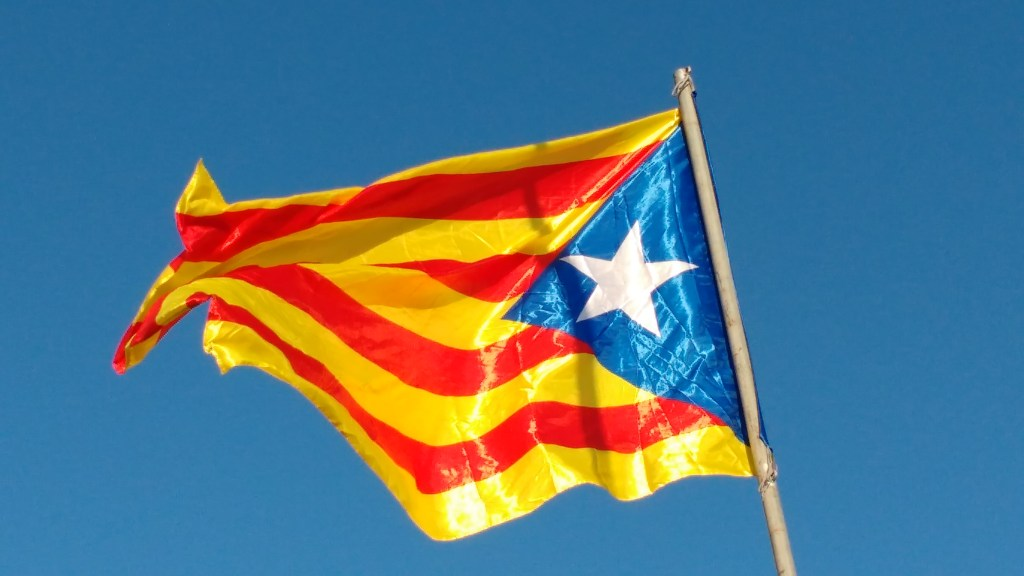 Catalan referendum and the flag of Catalunya