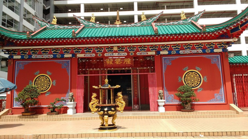 The Chinese Temple in Brunei