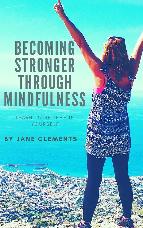book cover - Becoming stronger through mindfulness