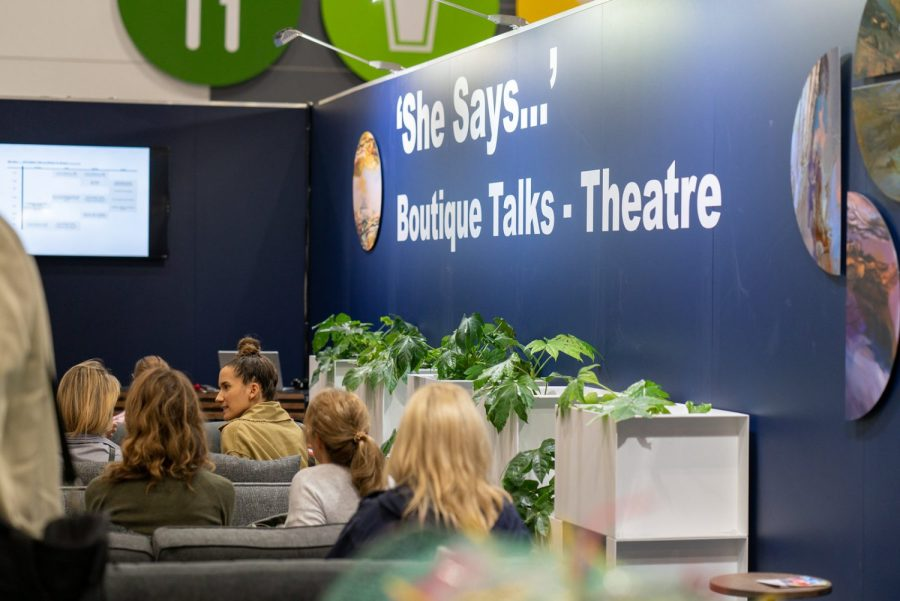'She Says' Boutique Talks Theatre on the trend hub by Scarlet Opus