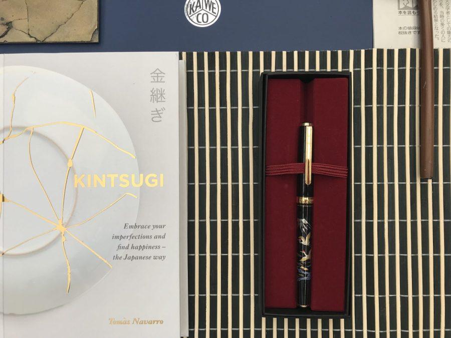 Japanese Kintsugi Stationery