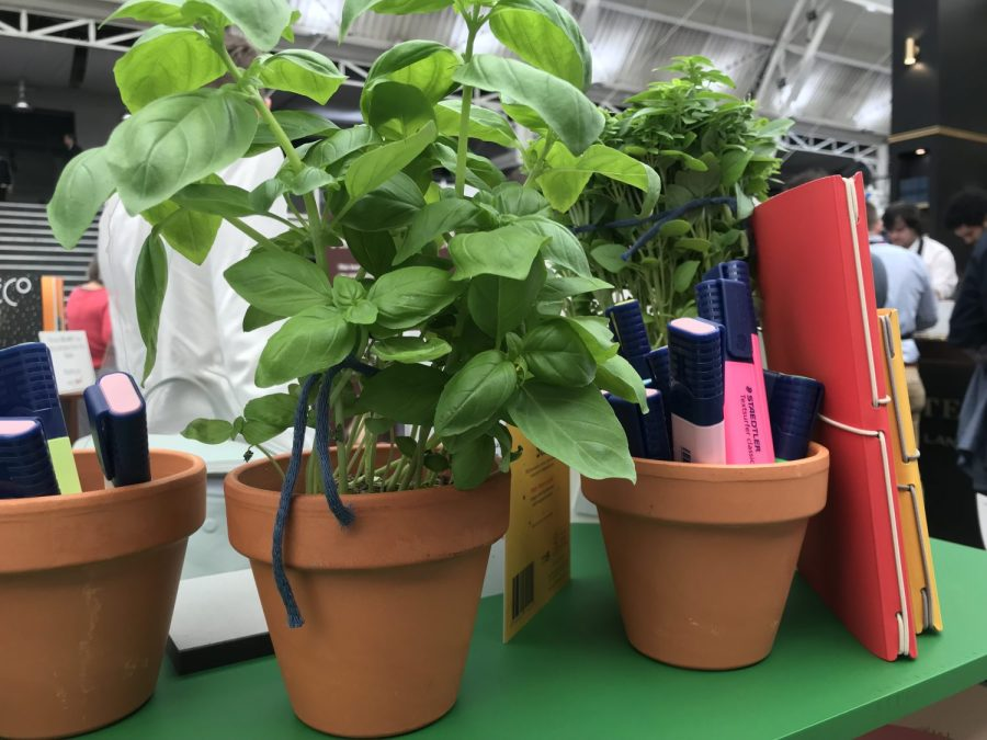 Herb planters stationery show london