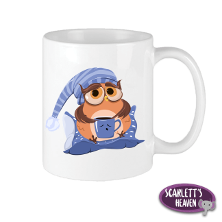 Printed Mugs - Owl