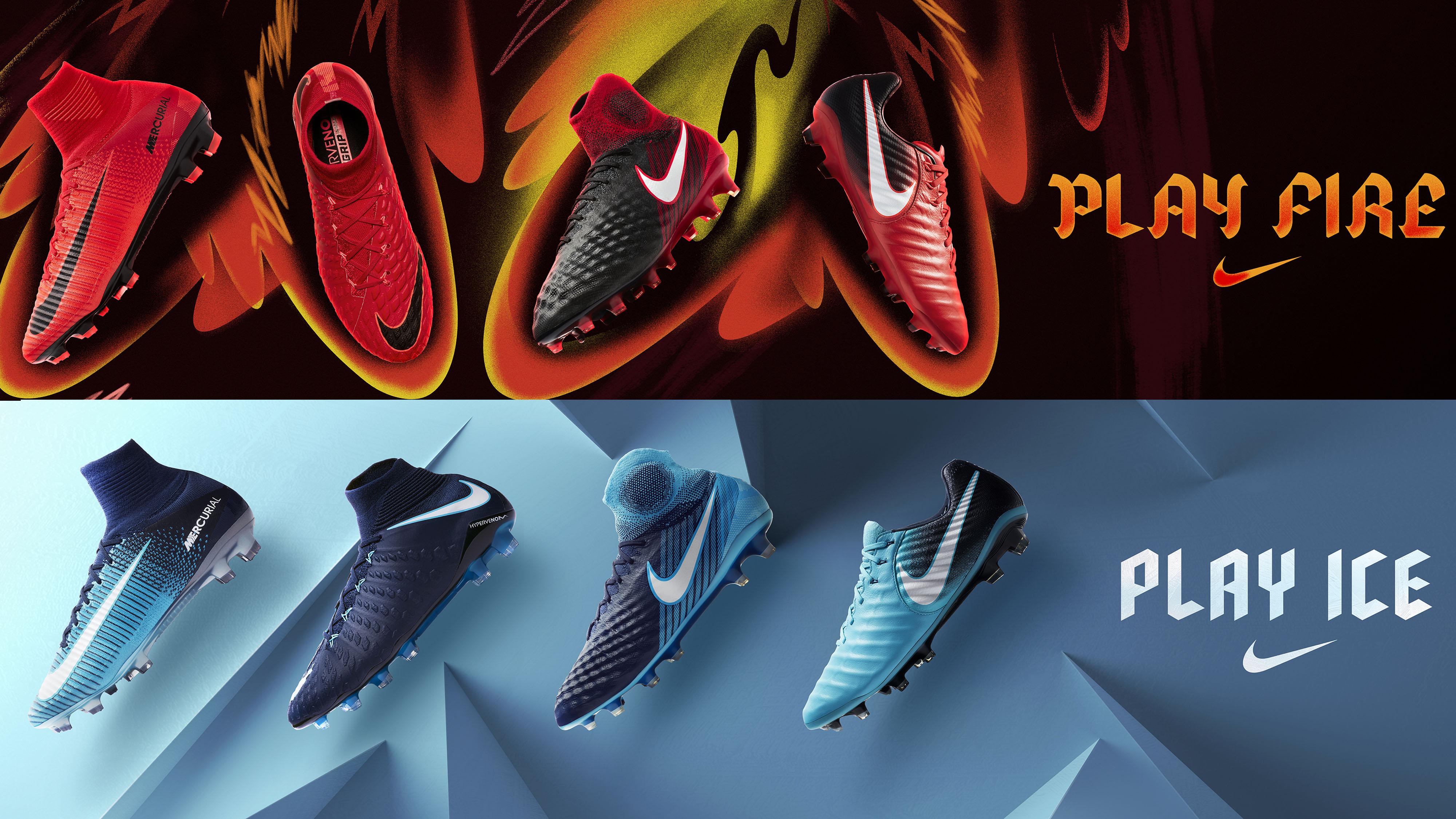 Fire E Ice Contro Ghiaccio Nike Play Scarpini Fuoco 1fxqfpw