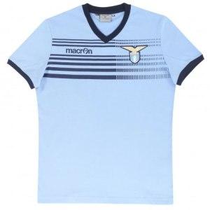 Macron - Lazio T-shirt Ufficiale Cotone
